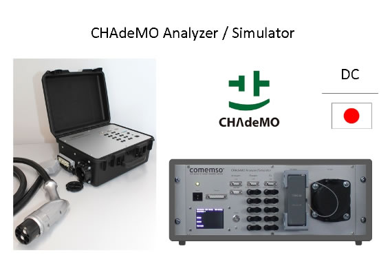 CHAdeMO Analyzer / Simulator