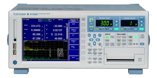 WT3000E Series Precision Power Analyzers